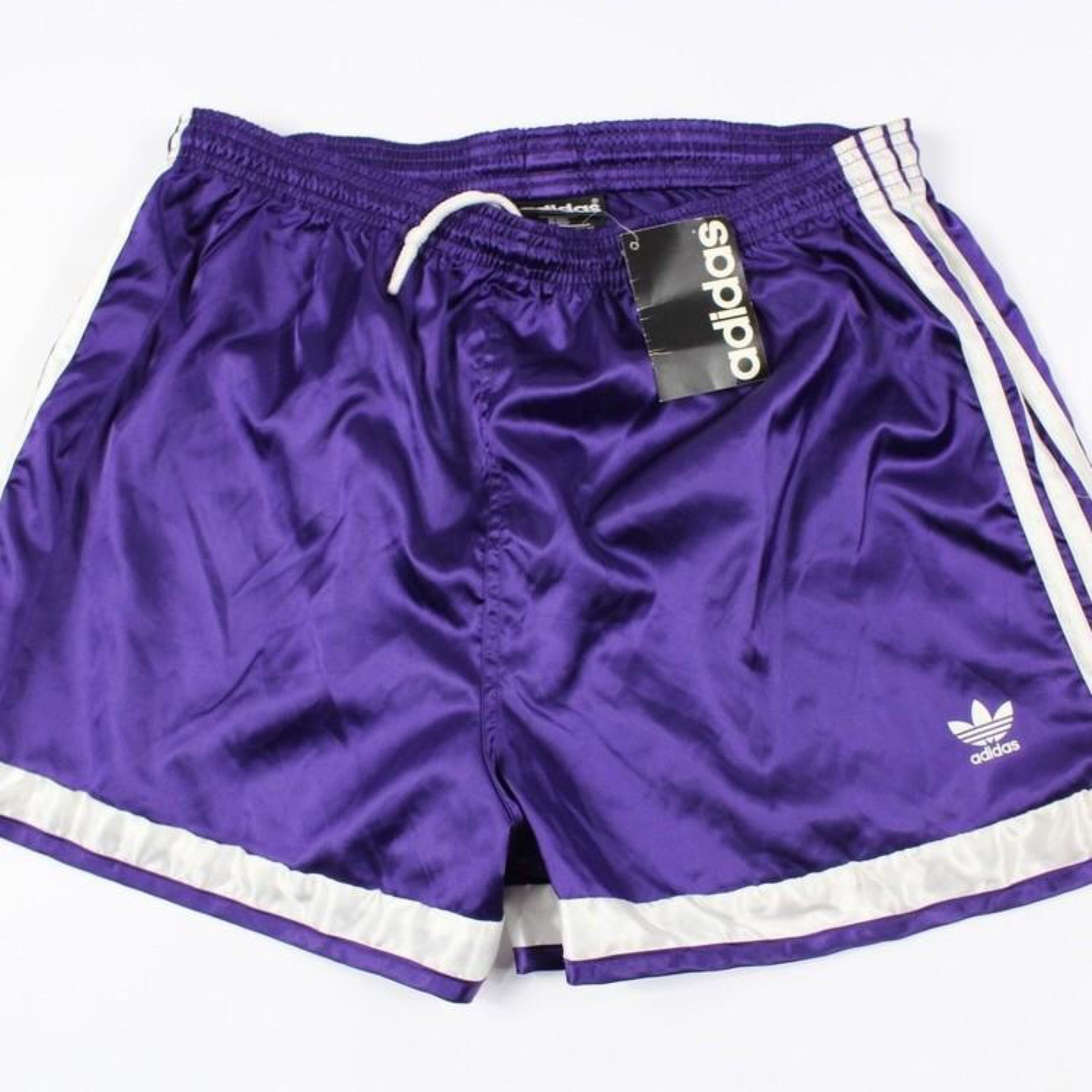 Vintage Adidas Spellout Nylon Soccer Shorts