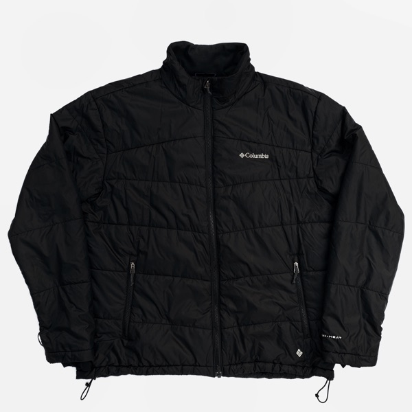Columbia Light Puffer Jacket Black - Size Xl