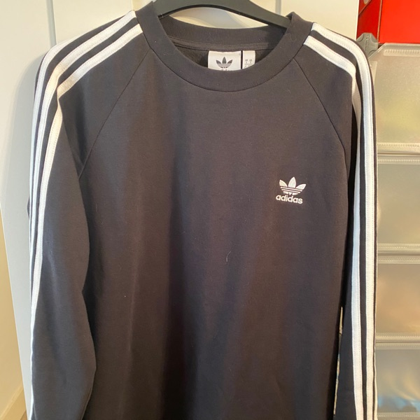 Adidas Sweatshirt - Black L