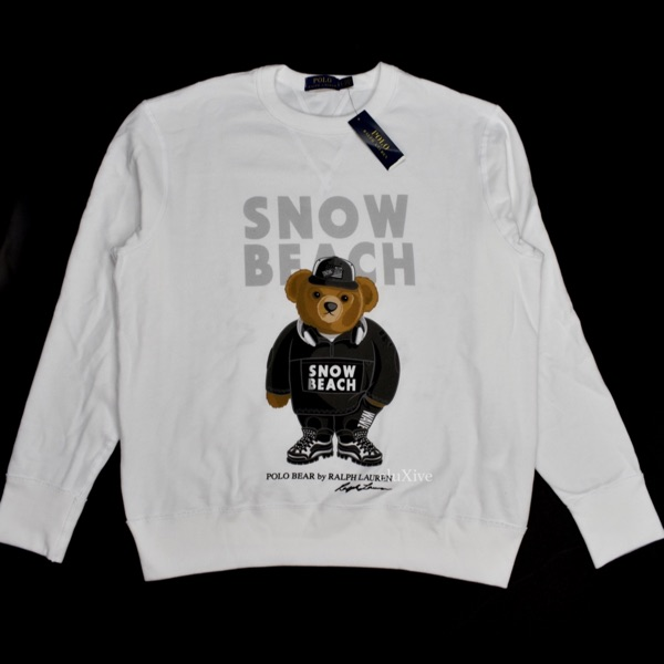 Polo Ralph Lauren Snow Beach Sweatshirt Monochrome