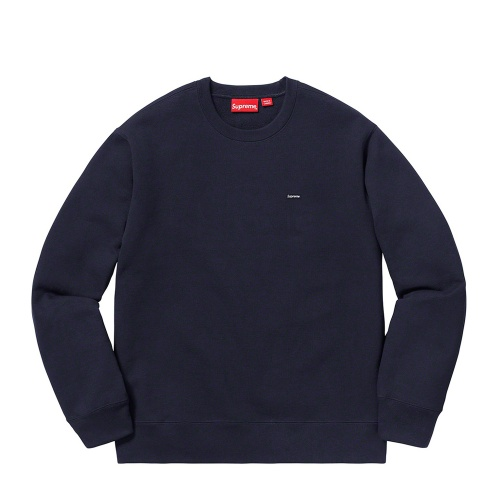 Supreme Small Box Crewneck Navy