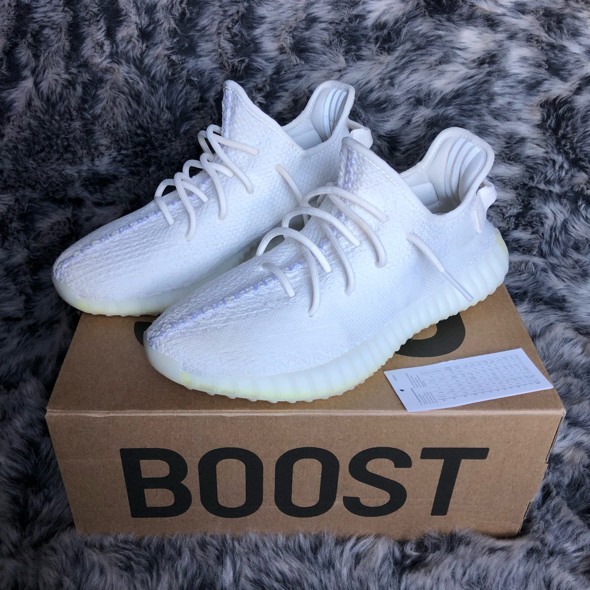 new products c5428 31751 Yeezy Boost 350 V2 Cream / Triple White