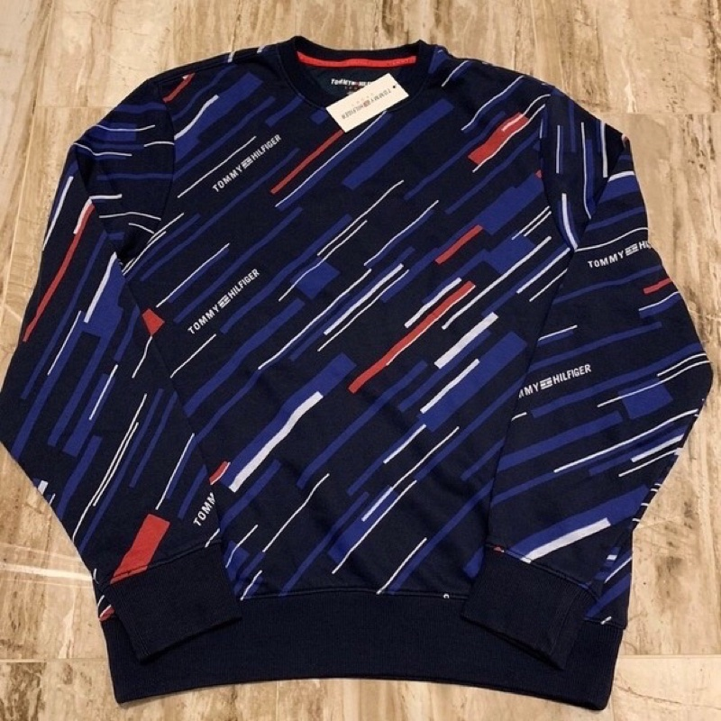 Tommy Hilfiger Deadstock Vintage COLORBLOCK rectangles sweater