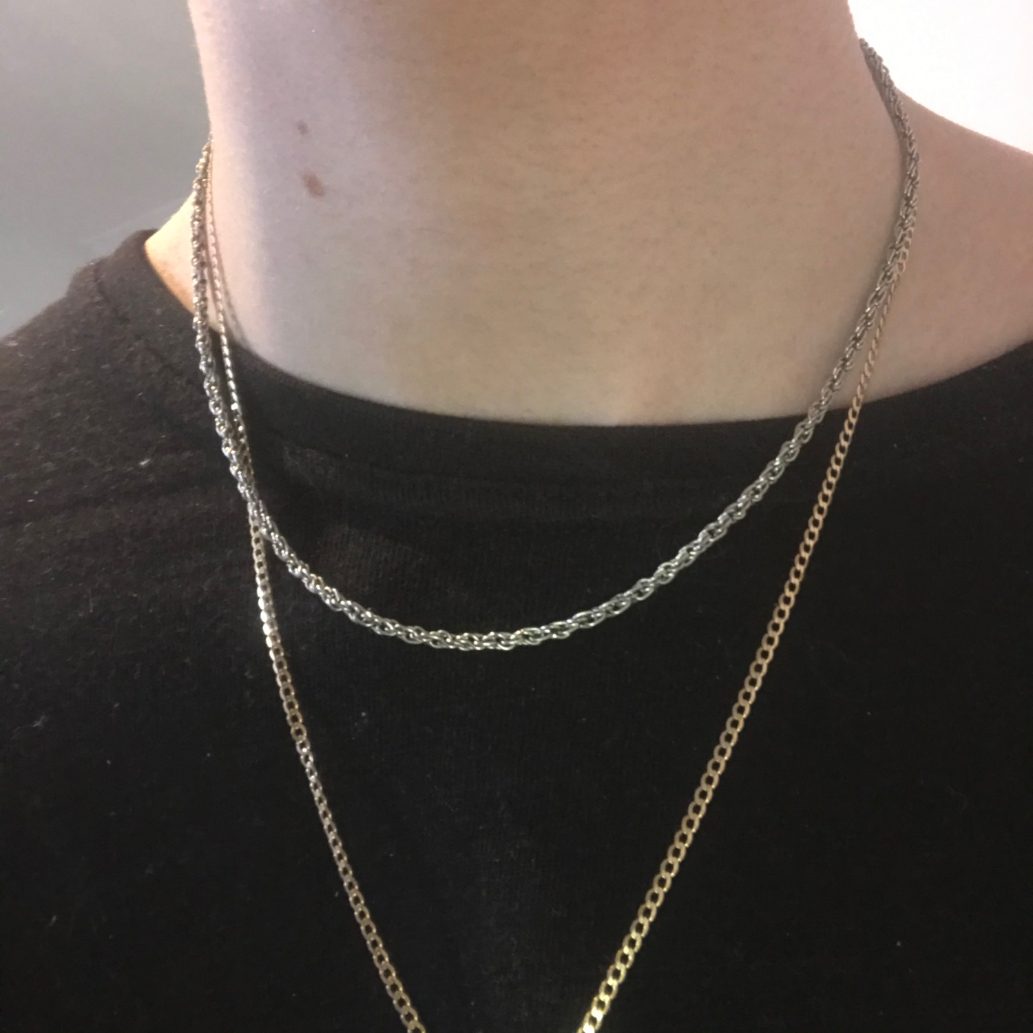 Sterling Silver 925 Rope Chain 7G