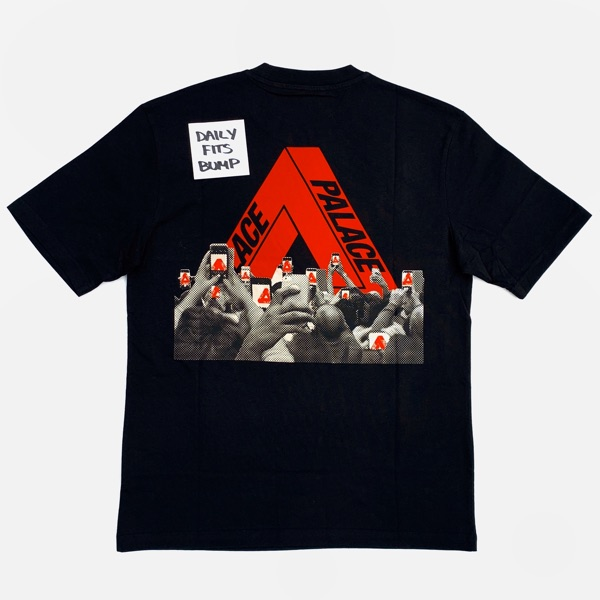 Palace Tri Phone T-Shirt Black Size Large Tri Ferg
