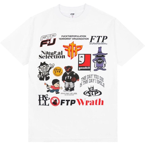 Ftp Archive Tee White Ss20