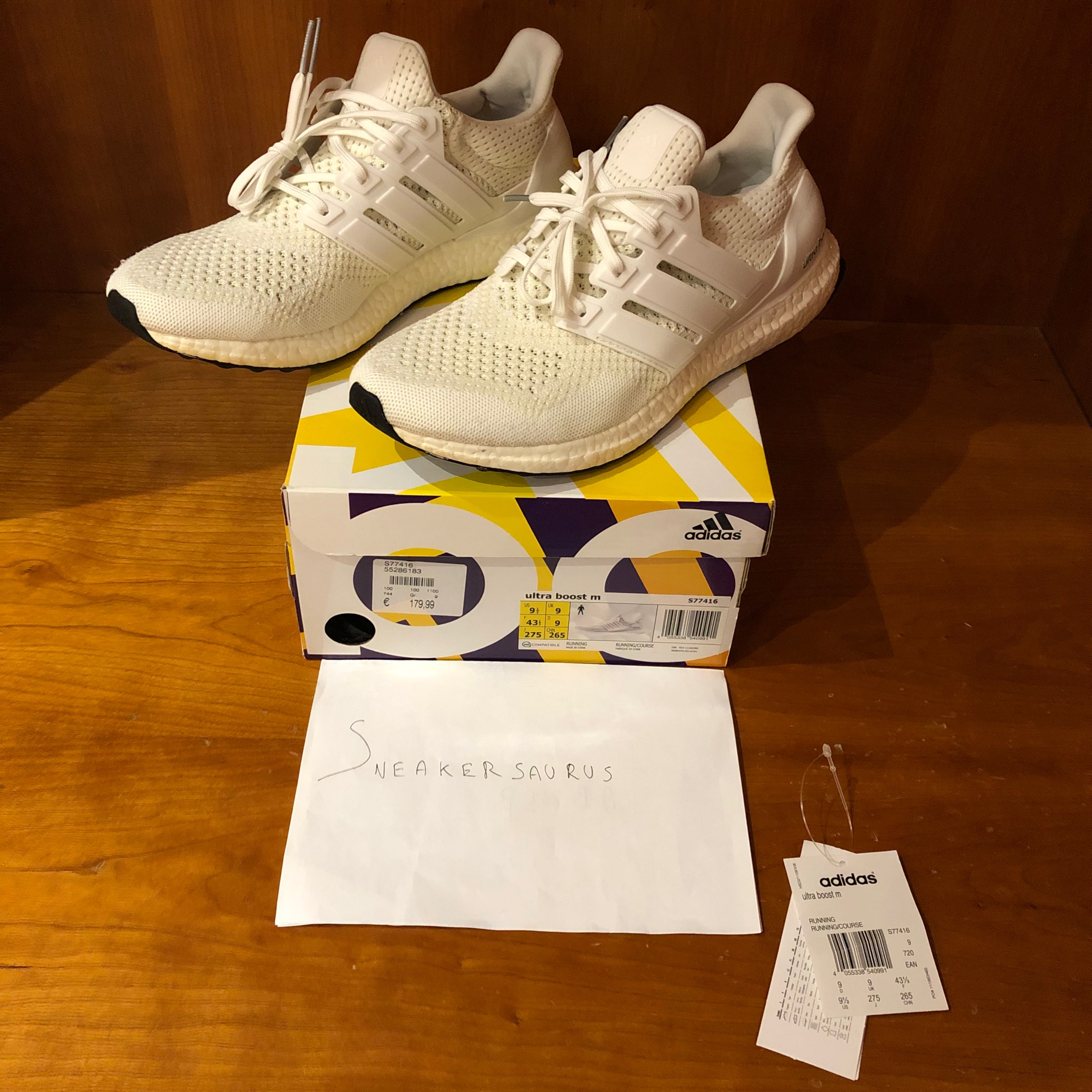 hot product look good shoes sale the sale of shoes Adidas Ultra Boost 1.0 All White Key City Pack