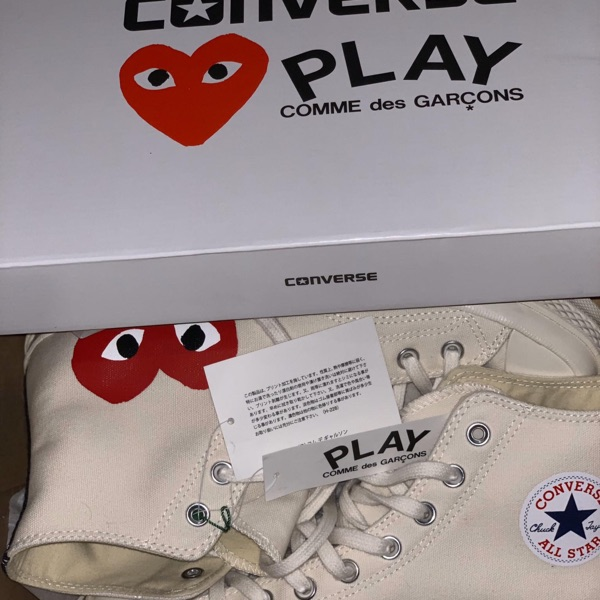 Converse Chuck Taylor All-Star 70s Ox Comme des Garcons Multi Heart Green