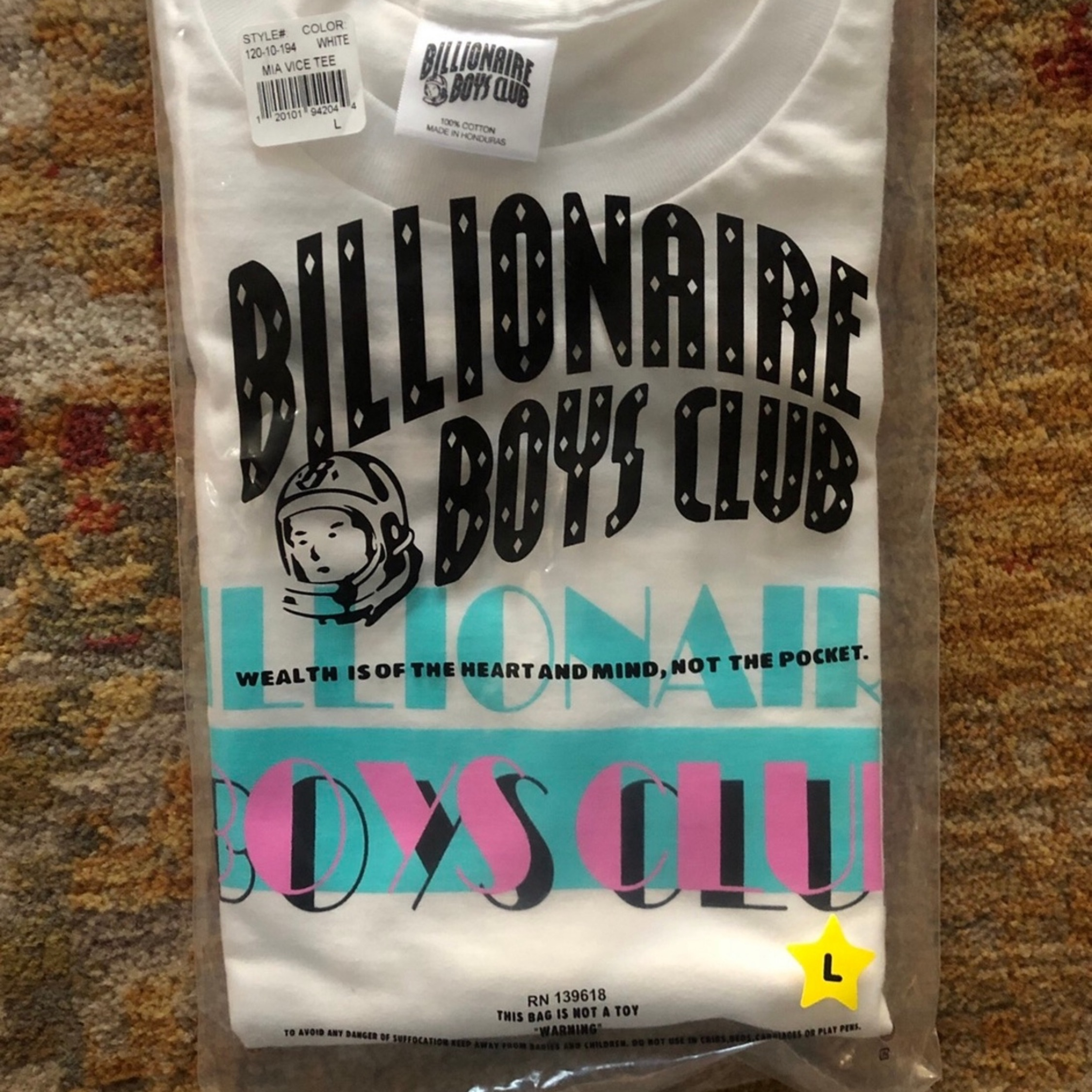 Billionaire Boys Club Miami Vice Tee - White / L