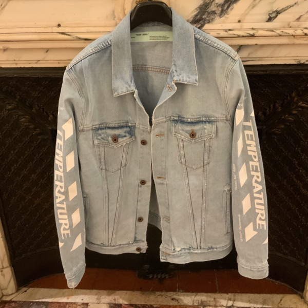 Off-White Temperature Denim Jacket And Trousers