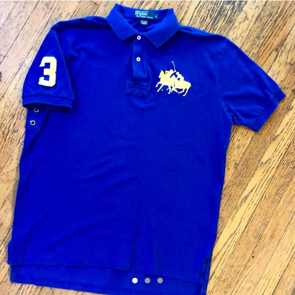 Vintage 90'S Polo Ralph Lauren Rugby Polo