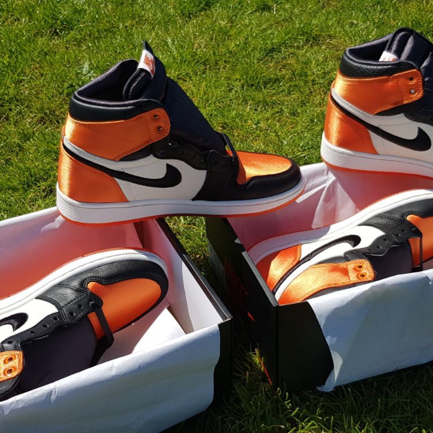 competitive price 6338c 130a6 Air Jordan 1 Satin Shattered Backboard Womens