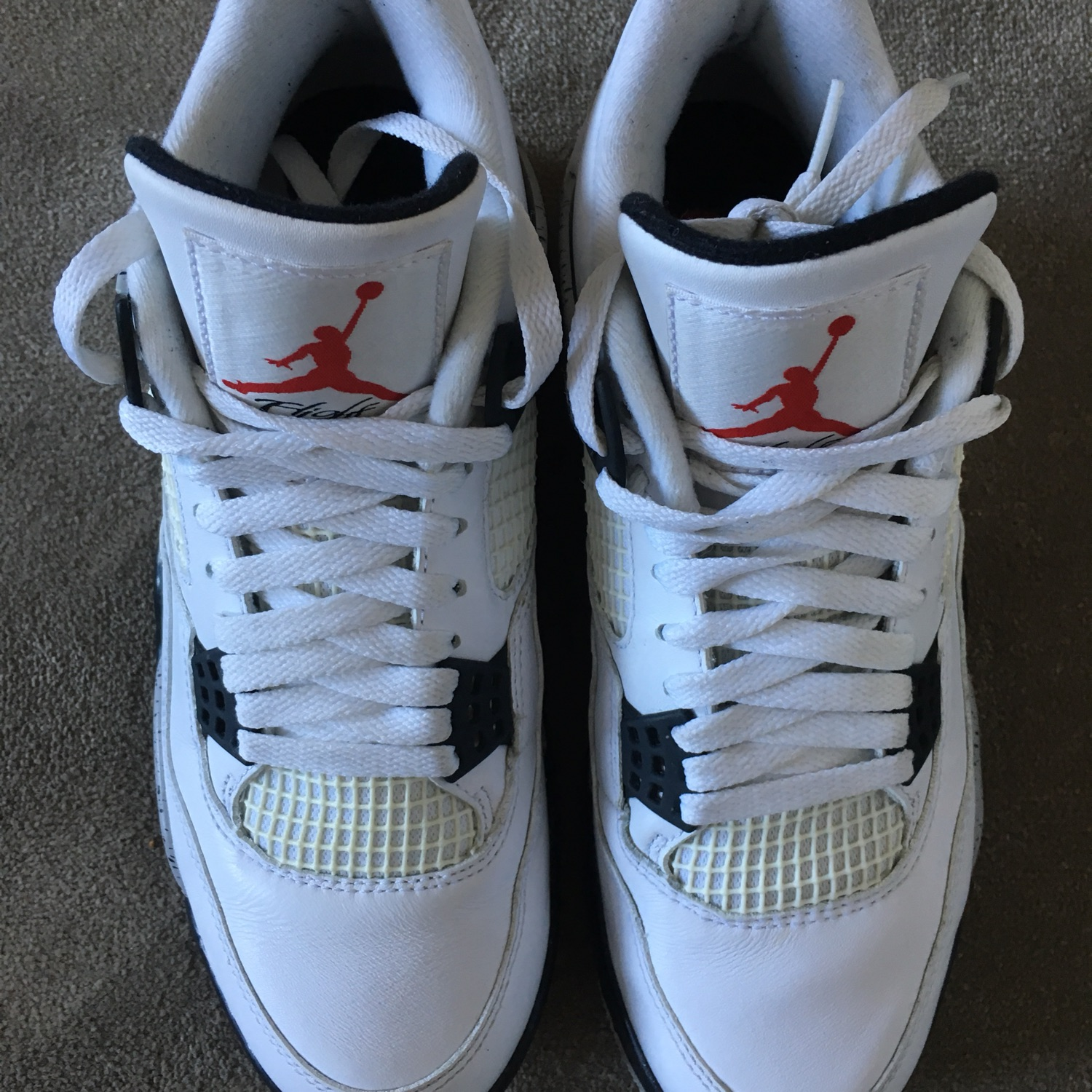 the best attitude b6b83 95aa9 White Cement Jordan 4S 2016 Great Price!!