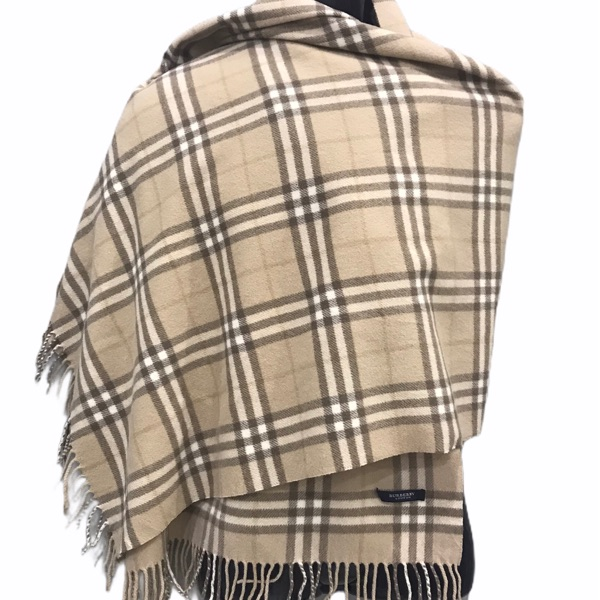 Burberry Nova Check Muffler Wrap Scarf Neckerchief