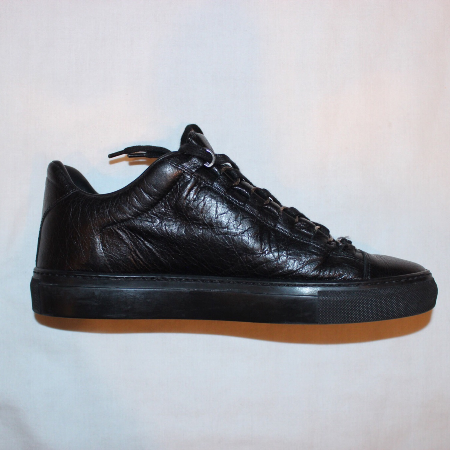 the best attitude 25557 e79a7 Balenciaga Arena Low All Black