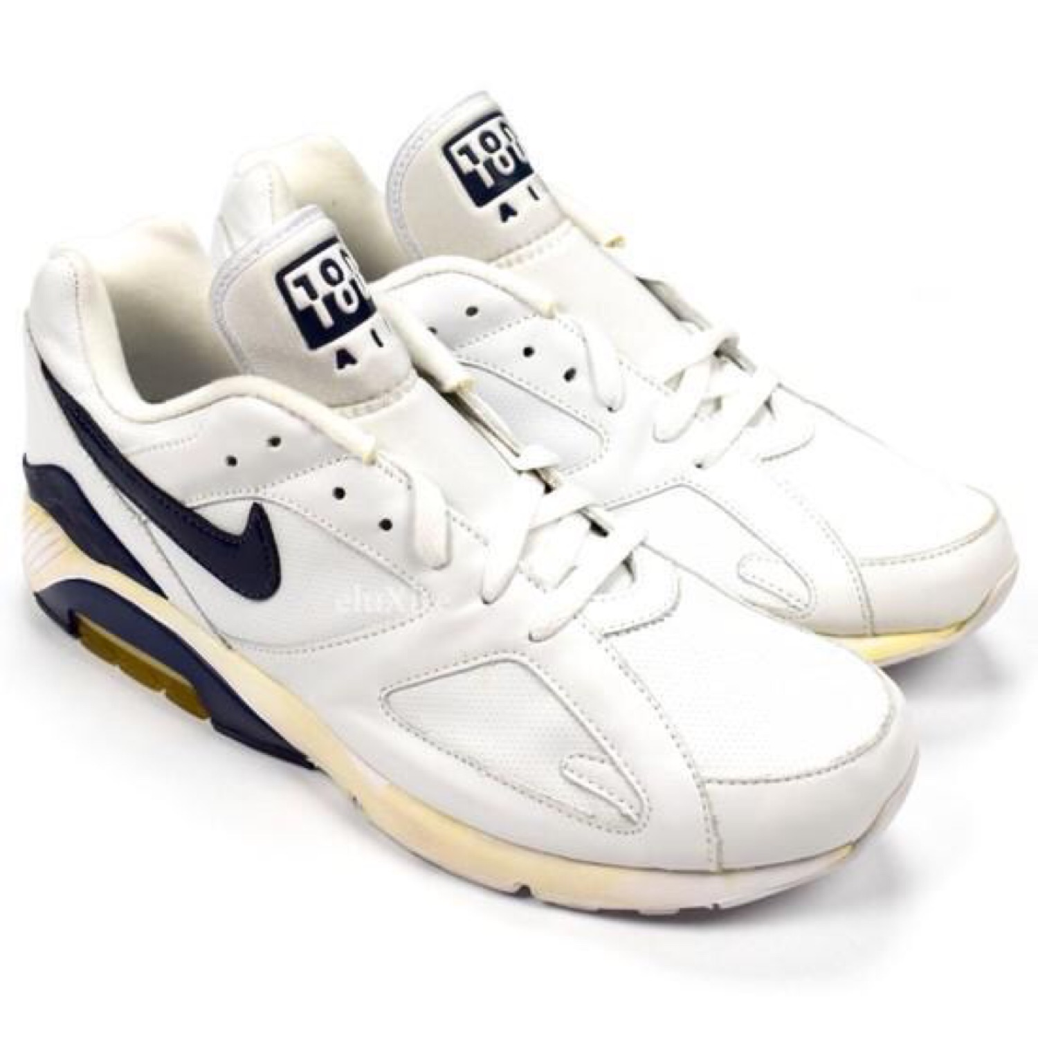 Nike Air Max 180 White / Navy (2005) Ds