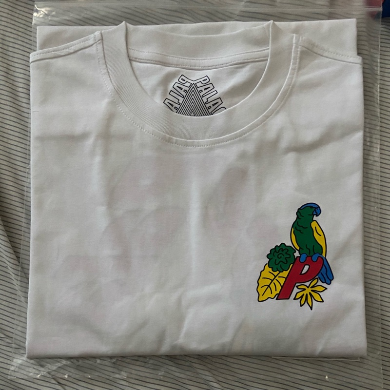 Palace Parrot Tee-White (Large)