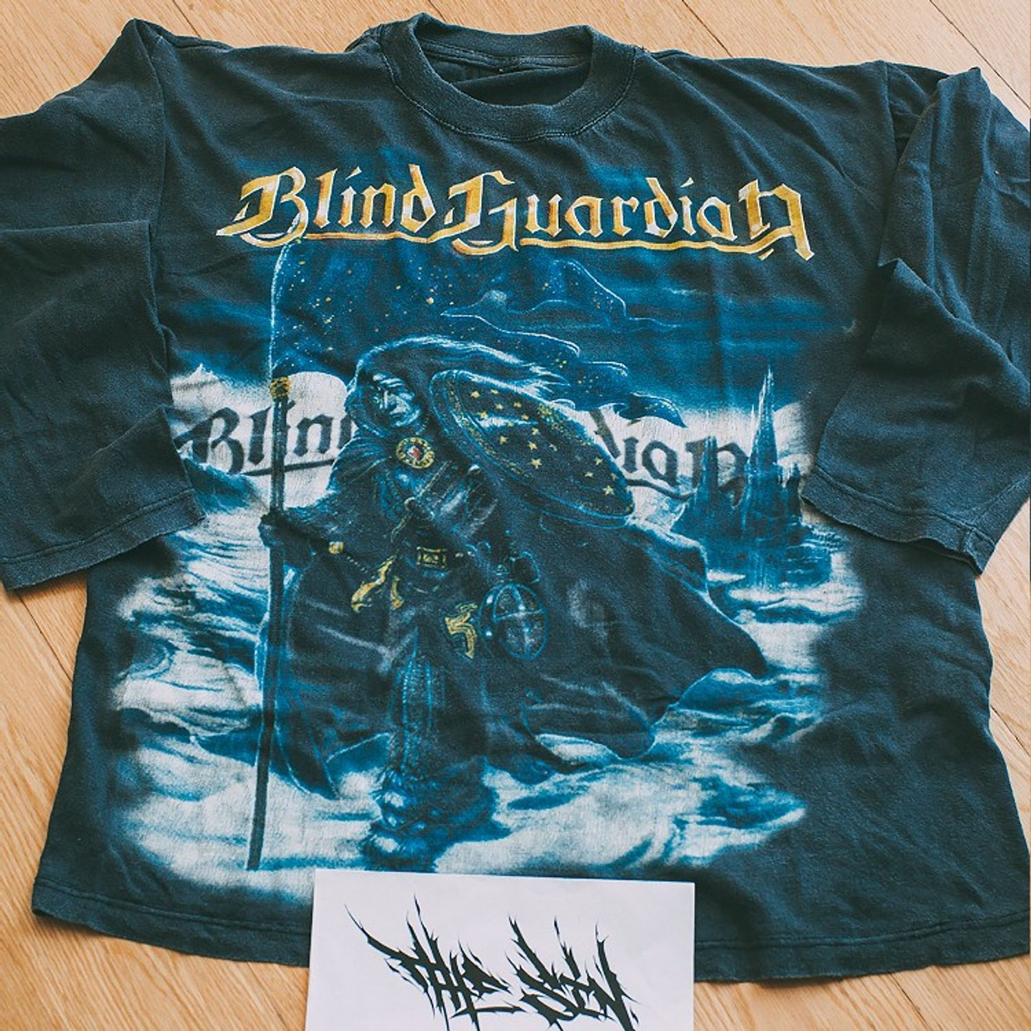 Blind Guardian Mirror Mirror 1998 Vintage Metal Band Long Sleeve