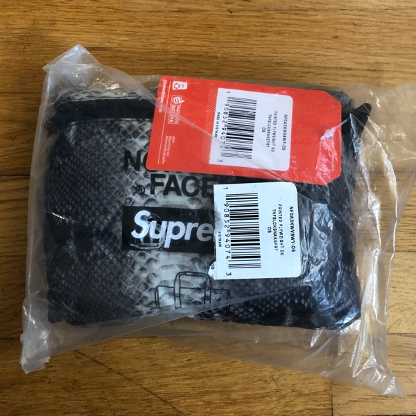 Supreme The Birth Face Bag Snakeskin Duffle