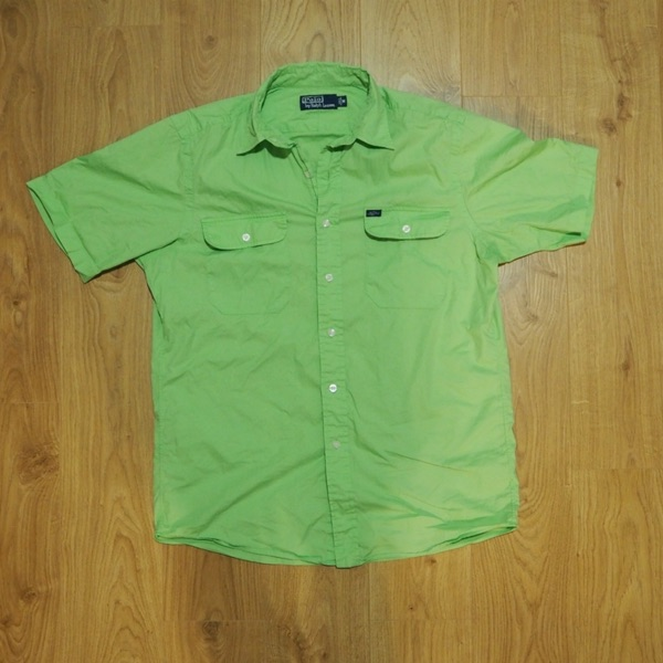 Vintage Polo Ralph Lauren Neon Green Short Sleeve