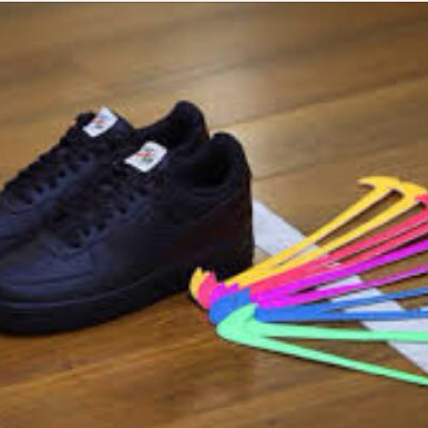 finest selection 019d1 573be Nike Air Force 1 Af1 Swoosh Pack Velcro Flavours