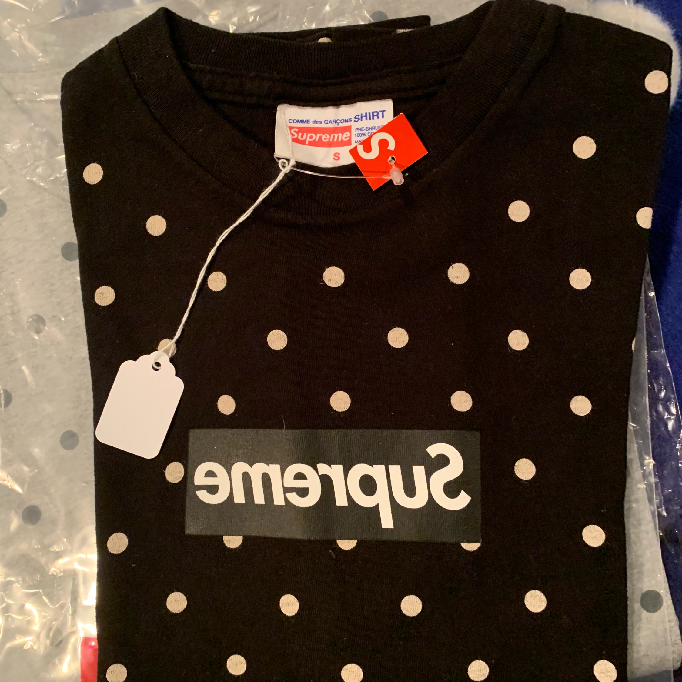 a145eb0406c1 Supreme X Cdg Box Logo Part 1. S