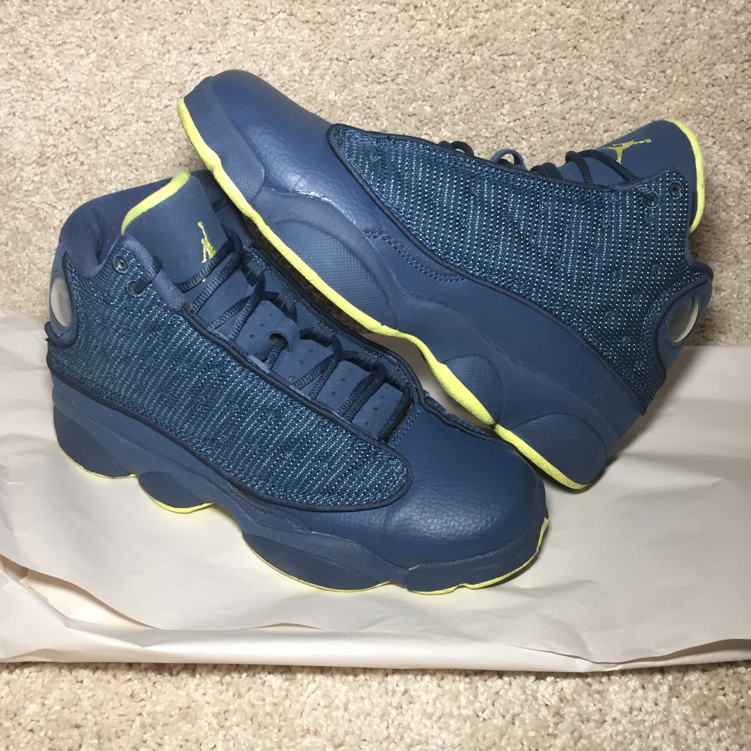 best loved cee0c b74ae Air Jordan 13 Retro 'Squadron' (Gs)