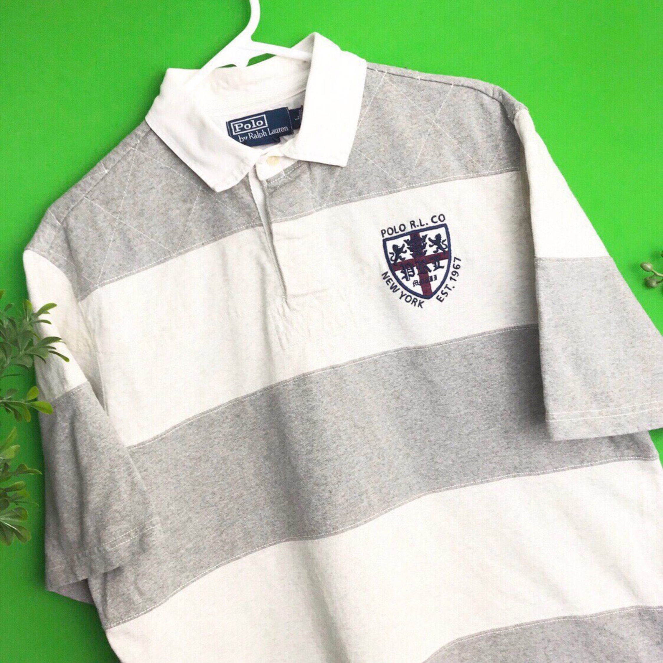 Ralph Lauren Short Sleeve Polo, Grey