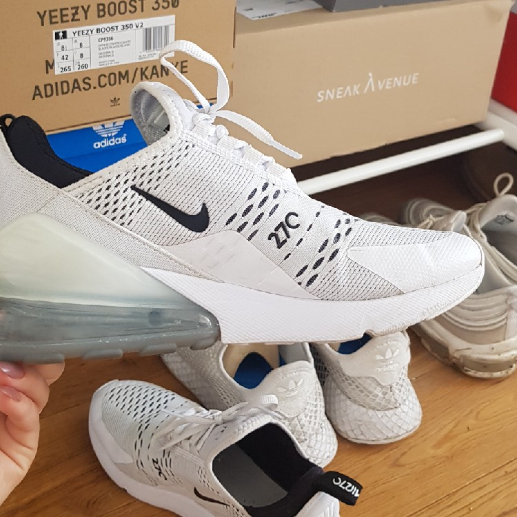 outlet store popular stores sale Nike Air Max 270 Weiß DE41