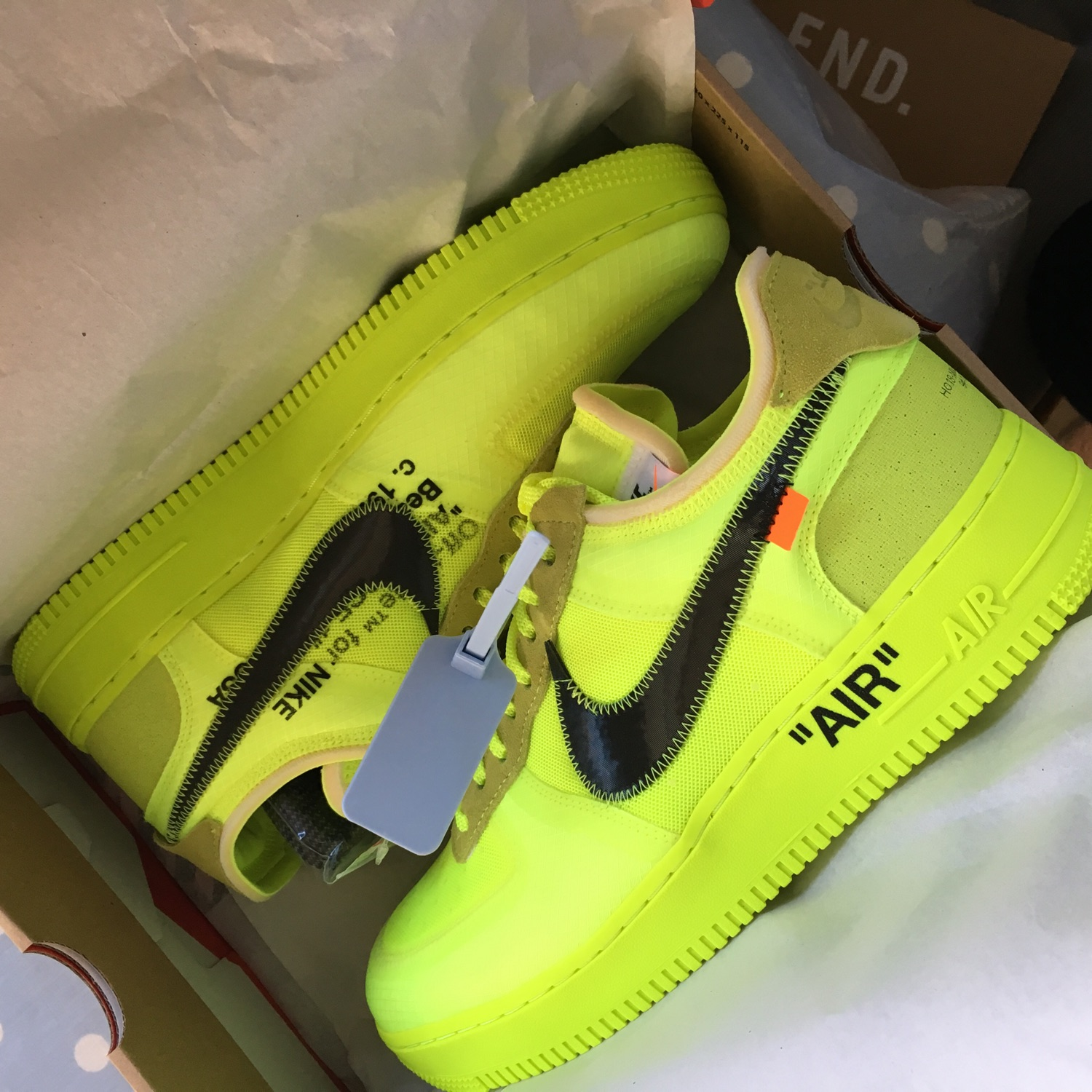 Tiempo de día linda sagrado  Off White X Nike Air Force 1'S