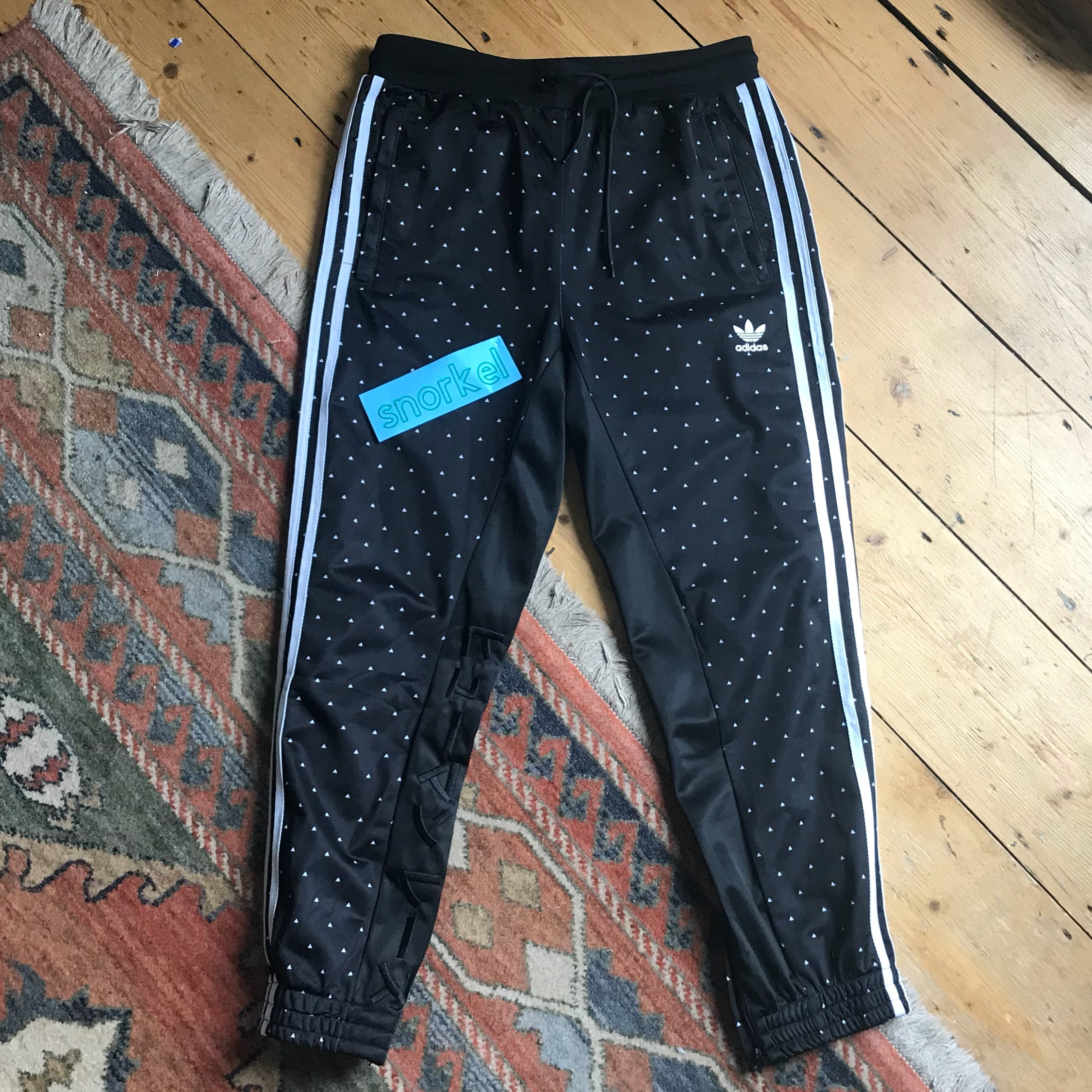 adidas hu race carrot pant sizing