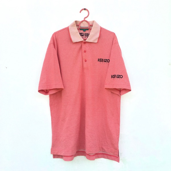 Kenzo Golf Stripes Polo Shirt