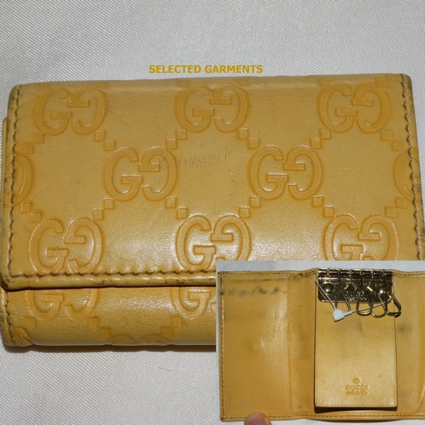 Gucci Gg Guccissima Made In Italy Leather Wallet
