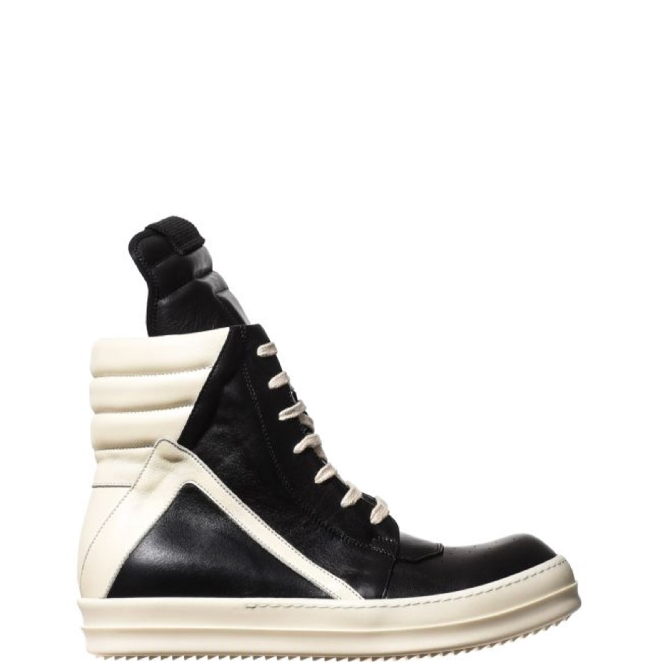 new product dffc8 90db3 Rick Owens Geobasket Sneakers Size 8 New