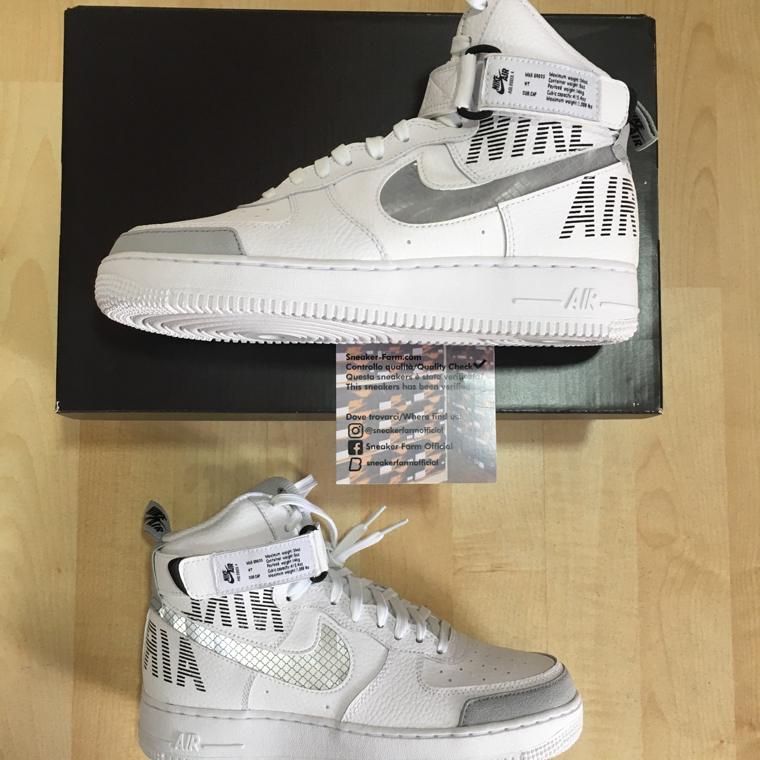 Nike Air Force 1 High 07 Lv8 2 Under Construction