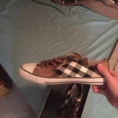 Burberry Messenger Bag And Burberry Shoes