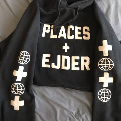 Places + Faces Ejder Collab Glow In Dark Hoodie