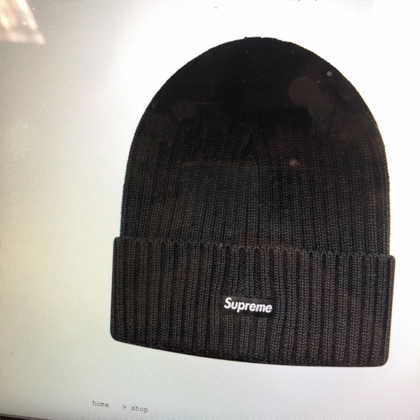 ad2823eff563a Under Stockx Price Supreme Black Beanie