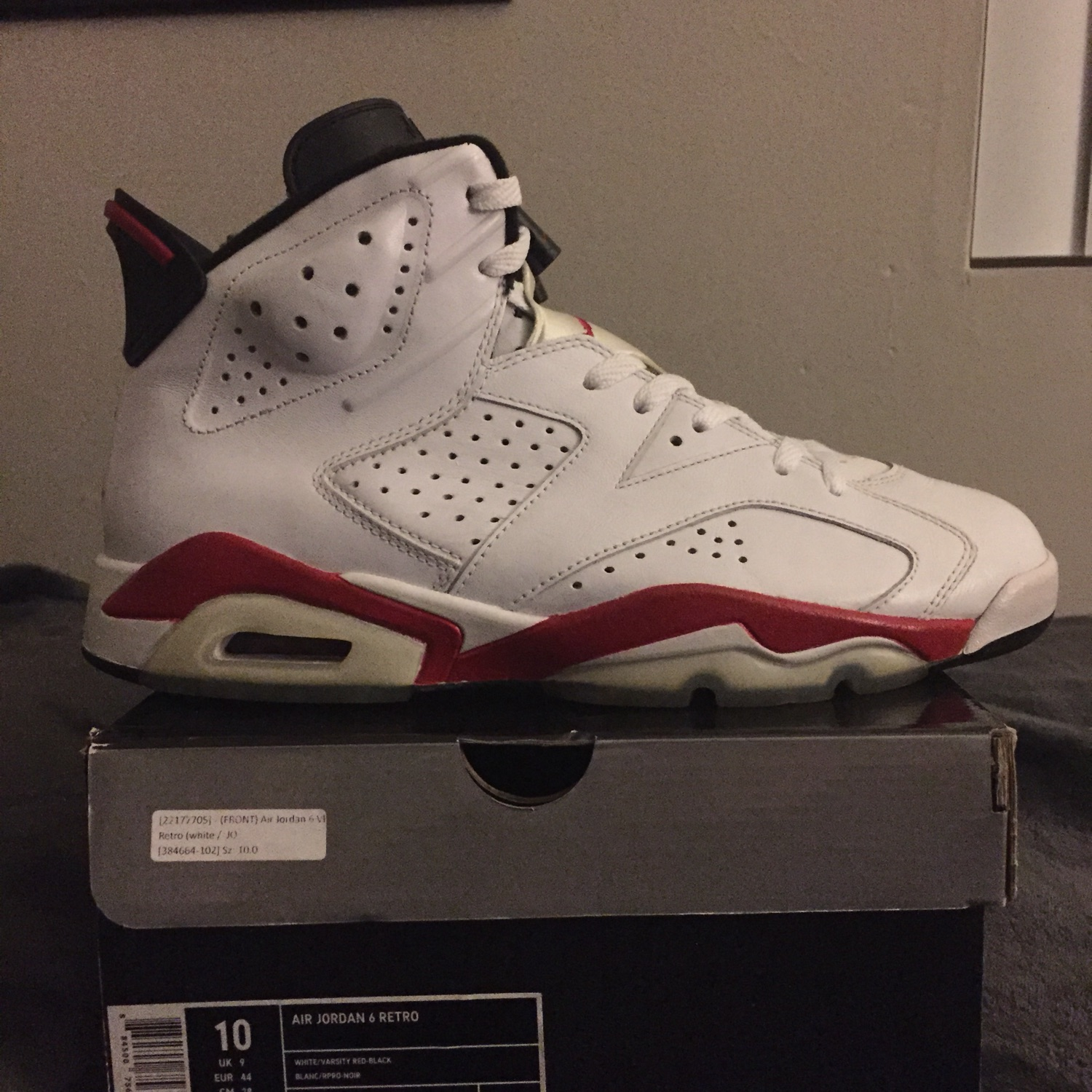 "huge discount 43447 3d506 Air Jordan 6 Retro ""Bulls"""