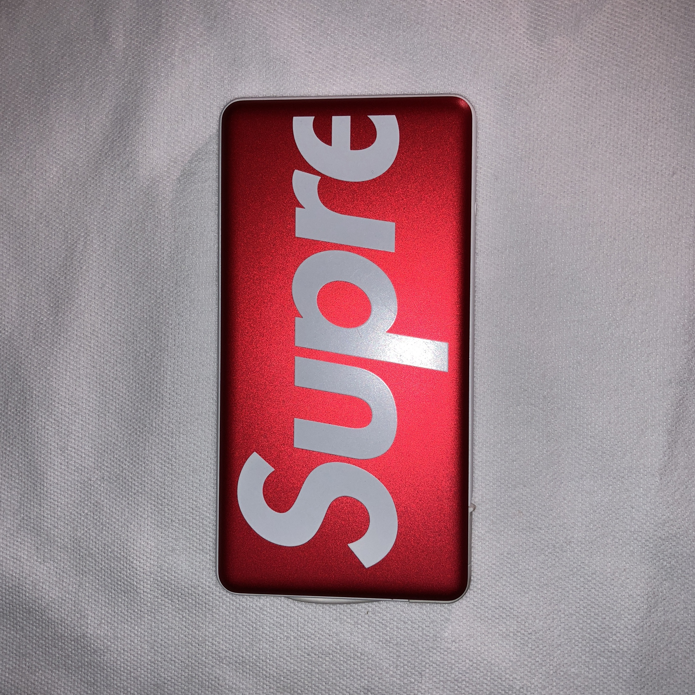 promo code 380e7 ec78c Supreme Mophie Powerstation Plus Mini Red *Rare*