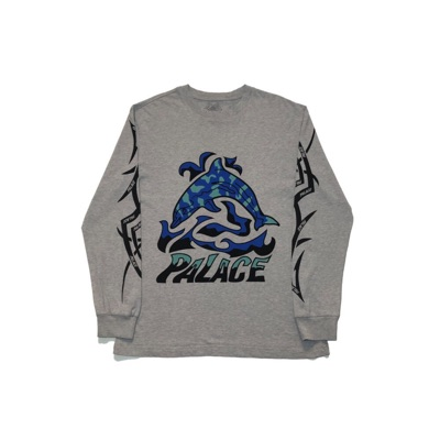 Palace Sketchy Dolphin Ls Tee