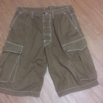 Vintage Hysteric Glamour Japan Baggy Cargo Shorts