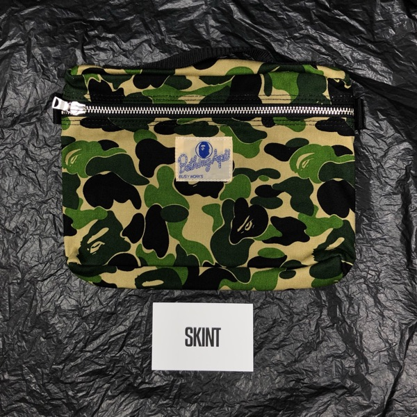 Bape Abc Camo Music Pouch