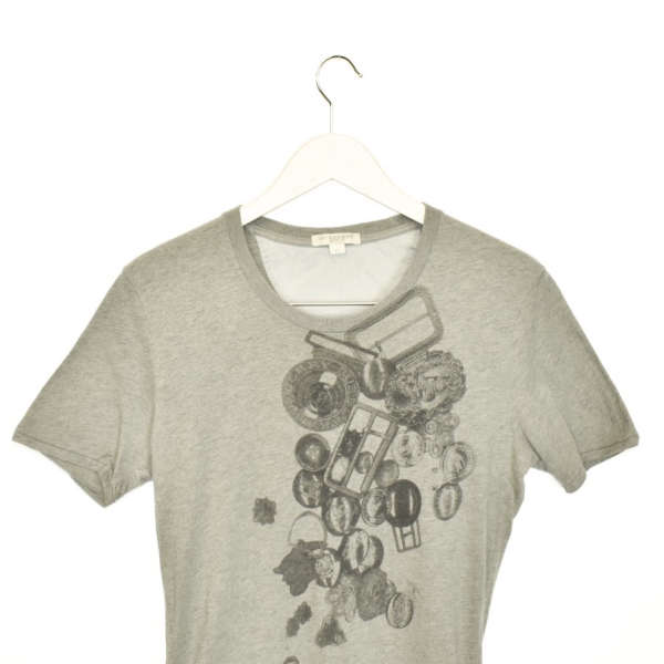 Vintage Burberry t-shirt top blouse tee in grey