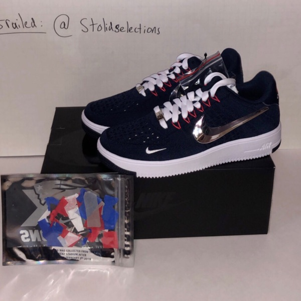 Nike Patriot Air Force 1S 6X Champs Size 8
