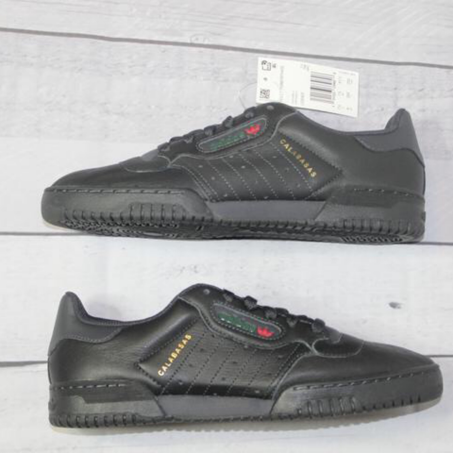 7b117404d7e13 Ds Adidas Yeezy Powerphase Black