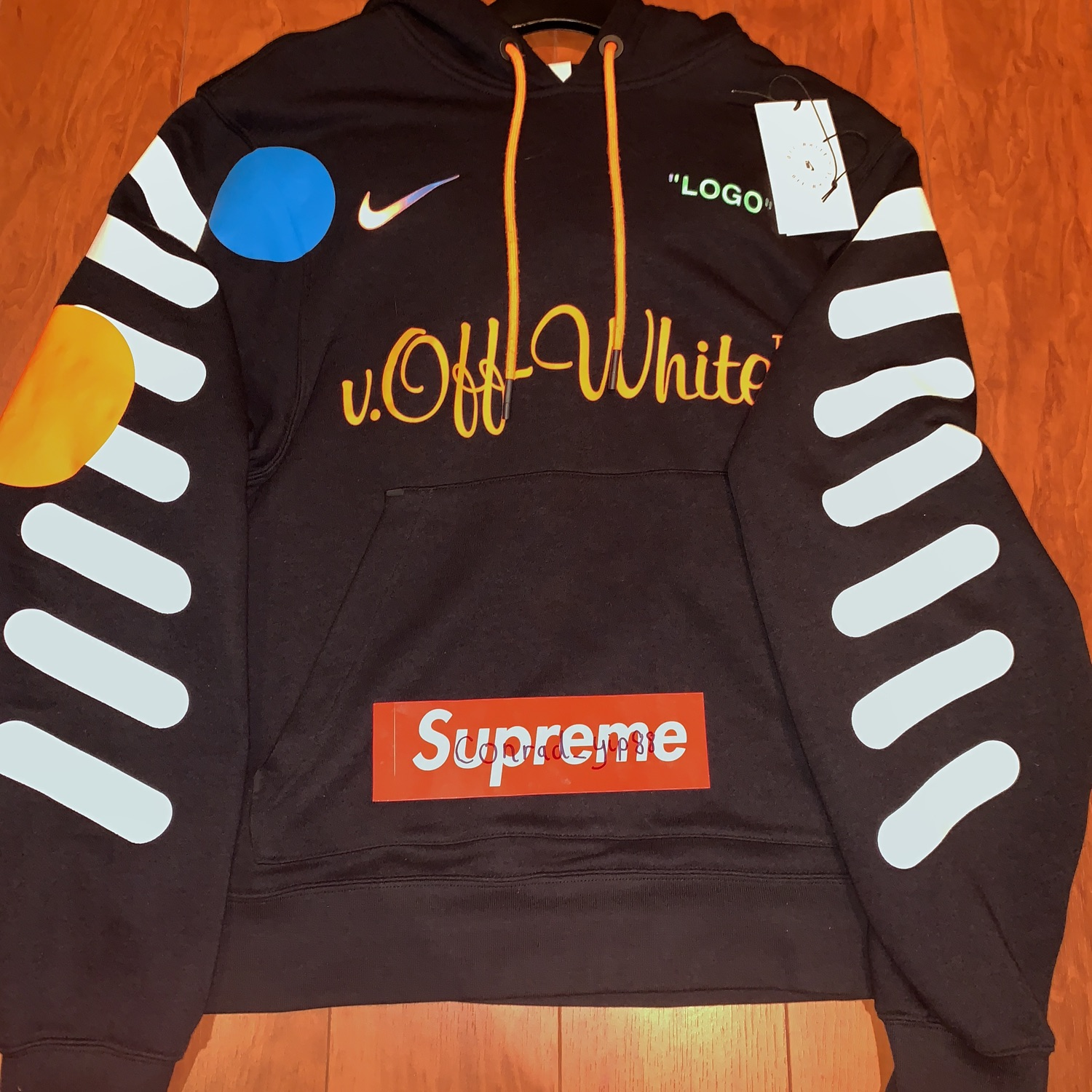 Off White X Nike Mon Amour Hoodie