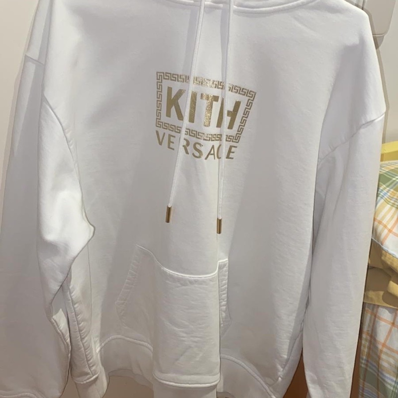 Kith x Versace Bolo Hoodie Off-White