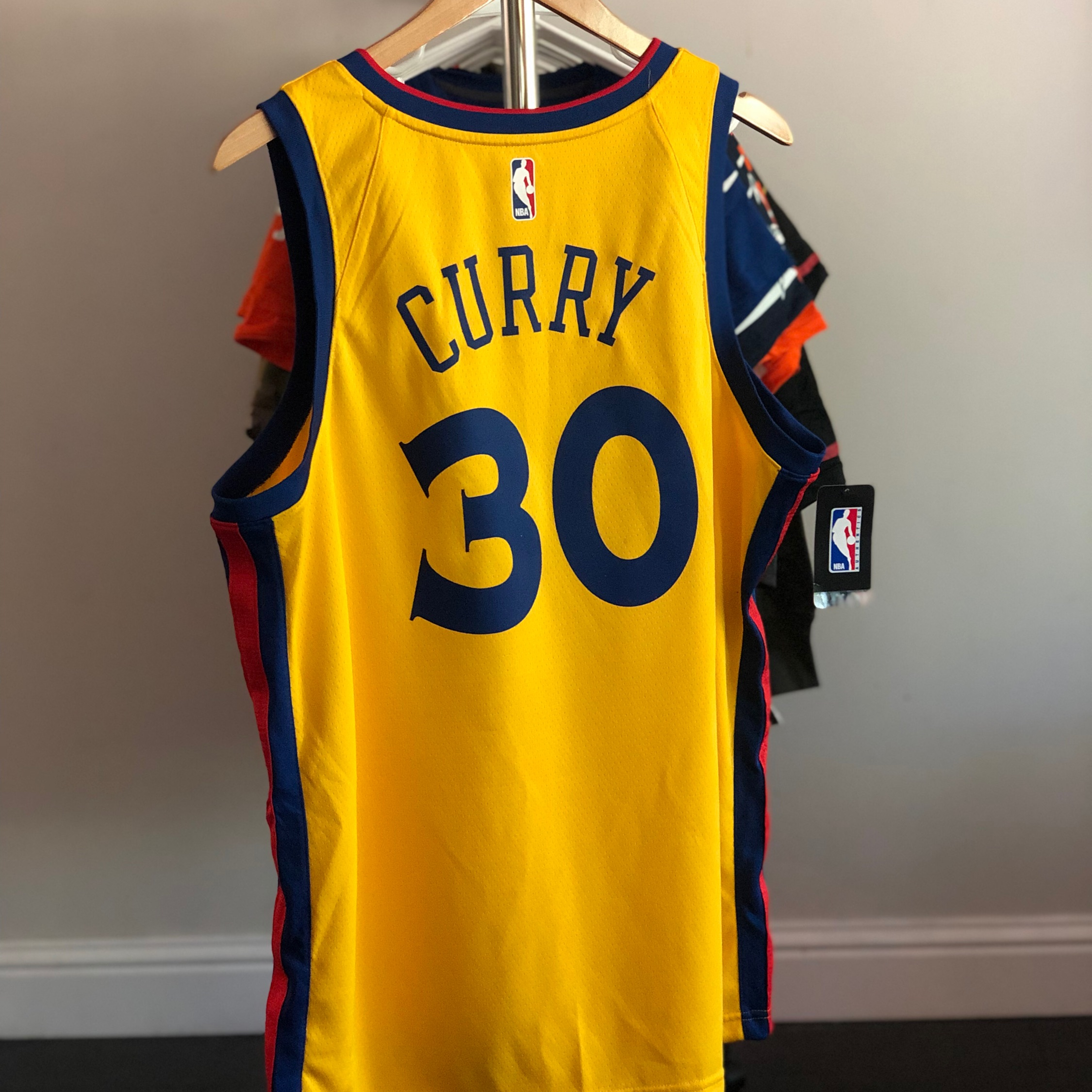 competitive price 9ab6e 4fcbd Nike Nba Golden State Warriors Steph Curry The Bay