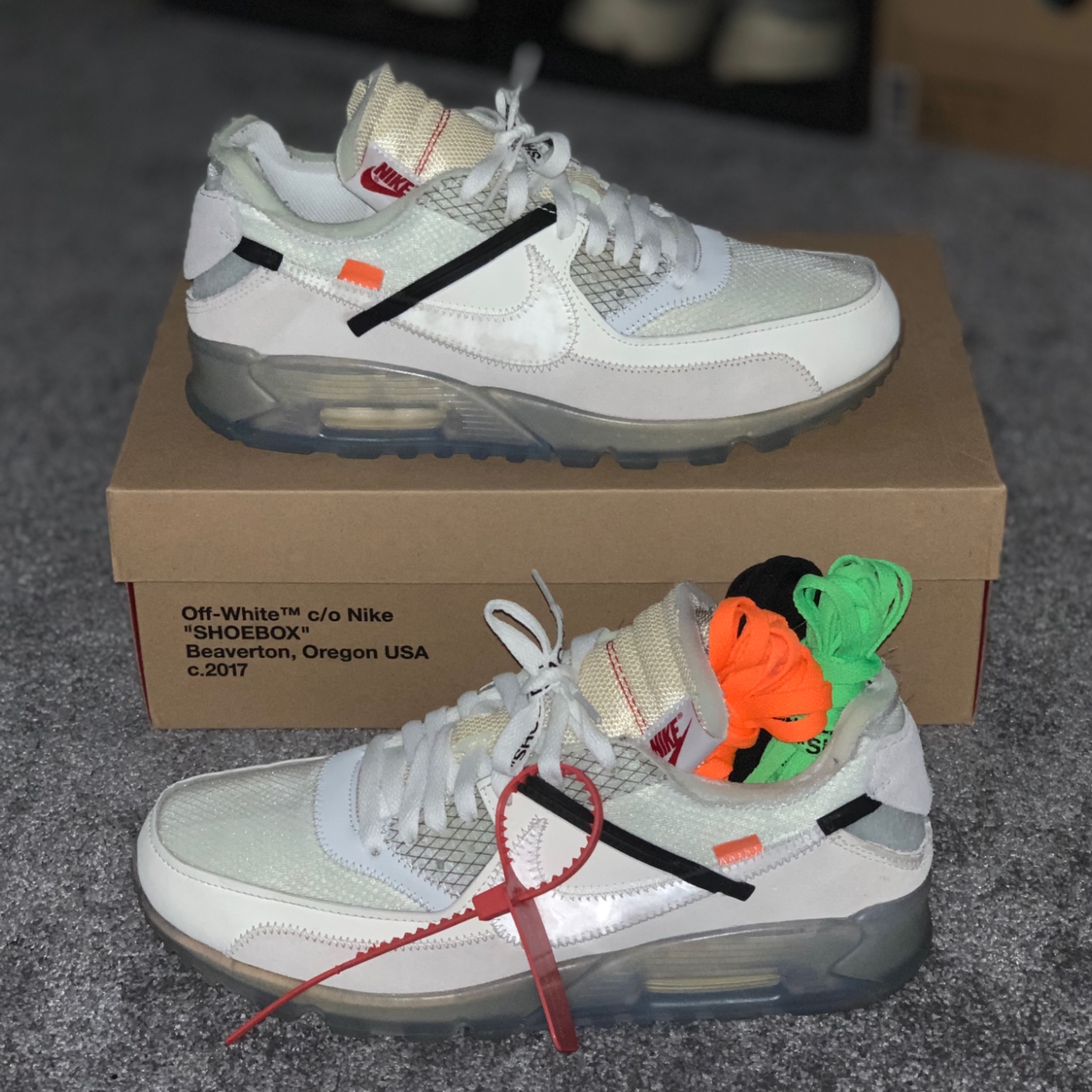 nike air max 90 off bianca stockx